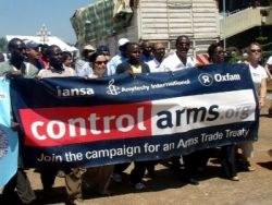 Asking for an Arms Trade Treaty at the UN